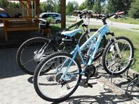 FUJI Ladies Nevana (baby Blue) mountain bike with full Hydraulics, ridden once
