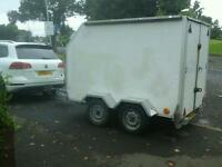 Indespenson tow a van box van trailer 88x5x6 no vat