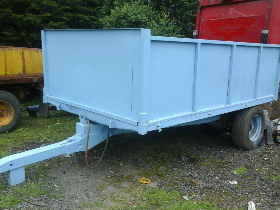 Weeks farm tipping trailer 11x6.6 5 tons no vat