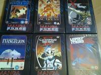 Manga dvds