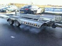 Ifor williams tilt bed car tranporter trailer with winch ct 177 16x7.6 no vat