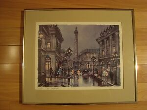 Framed Print by Maurice Legendre - Paris Place Vendome Kitchener / Waterloo Kitchener Area image 3