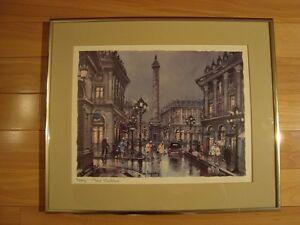 Framed Print by Maurice Legendre - Paris Place Vendome Kitchener / Waterloo Kitchener Area image 3