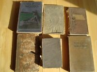 Antique Books - 6 Books in Total - All around 1823- 1924