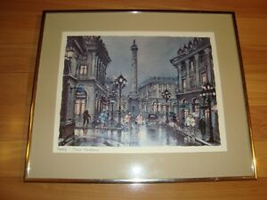 Framed Print by Maurice Legendre - Paris Place Vendome Kitchener / Waterloo Kitchener Area image 2