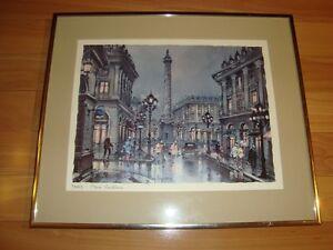 Framed Print by Maurice Legendre - Paris Place Vendome Kitchener / Waterloo Kitchener Area image 2