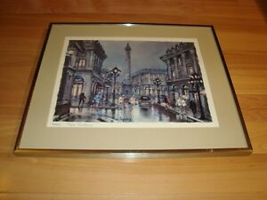 Framed Print by Maurice Legendre - Paris Place Vendome Kitchener / Waterloo Kitchener Area image 4
