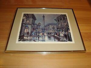 Framed Print by Maurice Legendre - Paris Place Vendome Kitchener / Waterloo Kitchener Area image 4