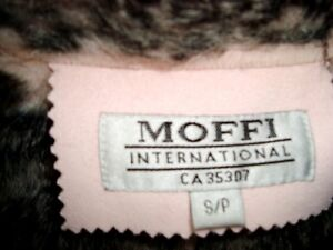 Moffi Intnl. Pink Suede Leather Faux Fur Lined Aspen Coat -MINT Kitchener / Waterloo Kitchener Area image 5