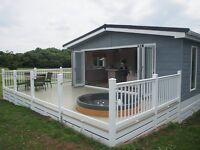 New Luxury Lodge For Sale, Florence Springs, Tenby, South West Wales.
