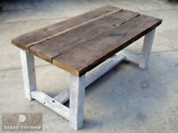 Old wood / Antique reclaimed timber oak table 180x90