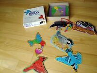 Beautiful Birds Lace & Trace - 2 Great Crafts in One -- FREE If.