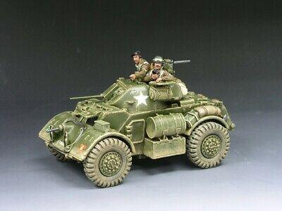 King & Country D Day World War II DD060 Staghound Armoured Patrol DD60