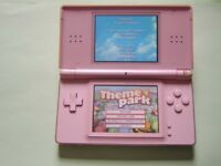 Nintendo DS Lite Pink – Charger, Games, Stylus, Instructions and Box