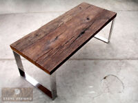 Old wood / Reclaimed antique timber beautiful oak table 200x85