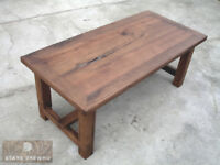Old wood / Reclaimed antique timber oak table 190x90