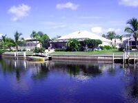 Fantastic waterfront villa Florida gulf coast- private pool, bar, boat dock- September available