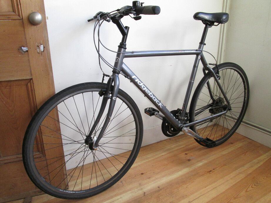 Hybrid Ridgeback Comet Bicycle 21 Frame Kept Indoors In
