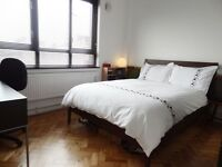 Nice, clean, quiet, double room.Wifi & all bills included. 1min to Kings Cross Tube Station