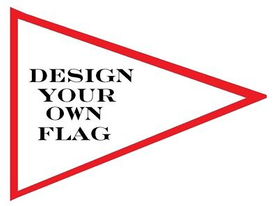 Custom 3 Racing Triangle Safety Flag For Atv Utv Jeep Dirtbike Dune Whip Pole Sporting Goods Other Outdoor Sports