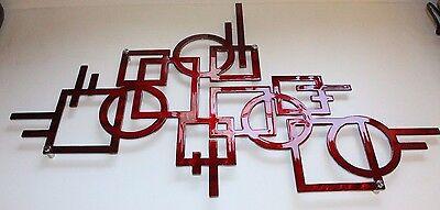 Sculptures Modern Lines Metal Wall Art
