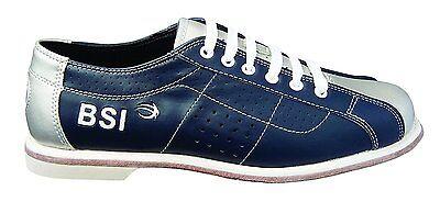 BSI Men's RENTAL Lace Blue/Silver Bowling Shoes Size 13