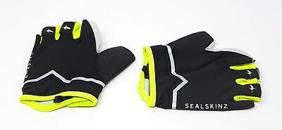 Sealskinz Ventoux kurzfinger Fahrrad Handschuhe Fahrradhandschuhe Gelb Schwarz L Kurze Schwarze Nylon-handschuhe