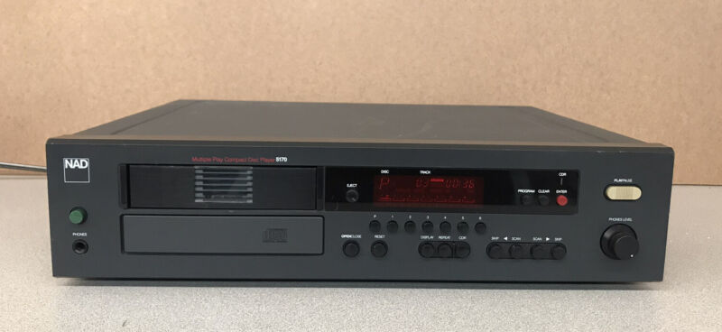 NAD 5170 CD Player  WORKING !  * No Remote