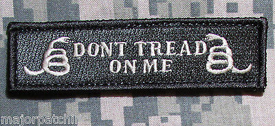 DON'T TREAD ON ME USA ARMY TAB ACU LIGHT HOOK MORALE PATCH