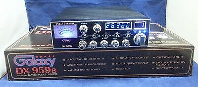 Galaxy DX-959B AM SSB CB Radio DX959 PRO TUNED AND ALIGNED!!!!