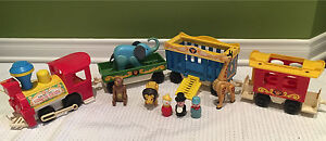 Vintage fisher price train