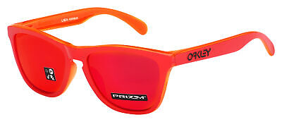 Oakley Frogskins Sunglasses OO9245-7254 Matte Red Grips | Prizm Ruby | Asia Fit