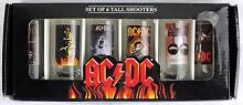 AC/DC Set of 6 Tall Shooter Glasses with Classic Poster Art Morley Bayswater Area Preview