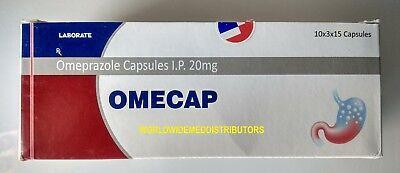 Omeprazole 20 mg OTC 400 ct Capsules Acid Re flux Heart Burn Reducer (Burn Treatment)