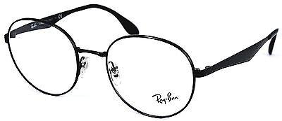 Ray-Ban Damen Herren BrillenFassung RB6343 2509 50mm schwarz rund P 506 40
