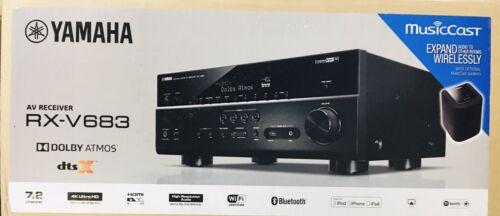 Yamaha RX-V683 7.2 A/V Bluetooth WiFi Receiver 4K HDR 90Wx7