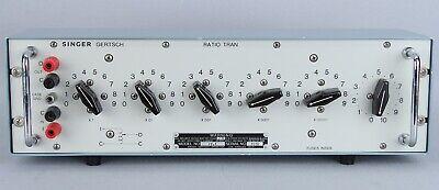 Gertsch Rt-7 Ratio Transformer Ac Voltage Divider