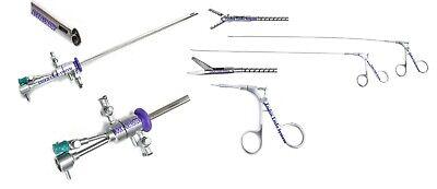 Hysteroscopy 21fr Operative Sheath 2.9mm Endoscope 5fr Flex Scissor Aligator 3pc