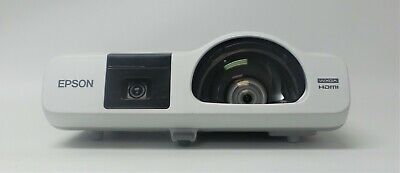 Epson BrightLink 536Wi LCD Projector 3400 Lumens HDMI <1800 Lamp HOURS