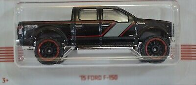15 Ford F-150 Black American Pickup Series 2019 Hot Wheels