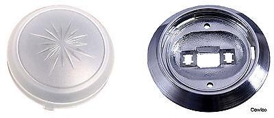 Dome Light Base & Lens Dome Light Lens