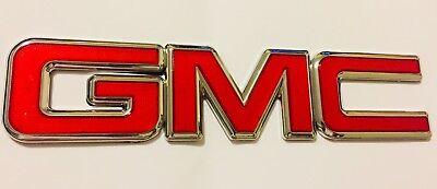 GM FRONT GRILLE OEM GMC BADGE EMBLEM 2007-2014 SIERRA 2007-2015 ACADIA 22761717