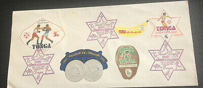 Tonga FDC 1975 5th South Pacific Games