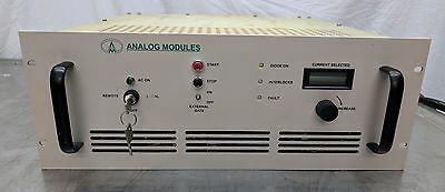 Analog Modules High Power Laser Diode Driver Up To 110v 60a And 6.6kw Coherent