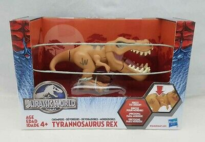 Jurassic World Chompers Tyrannosaurus Rex Figure By Hasbro