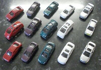 Set of 15 Model Cars for N Gauge Layouts for sale  Shipping to Ireland
