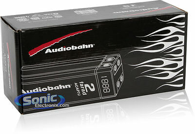 Audiobahn Car - ACAP7J AUDIOBAHN CAR AUDIO CHROME CAP 2 FARAD CAPACITOR FOR SUB AMPLIFIERS NEW