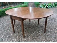 Vintage Mahogany Drop Leaf Table