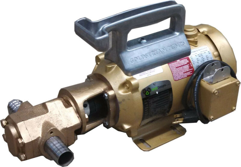 Portable Oil Transfer Gear Pump 20gpm 50hz