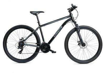 "Coyote Zodiac Mens Mountain Bike 27.5"" Wheel 21 Speed Black"